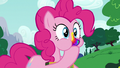 Pinkie Pie eating another joke cookie S6E15.png