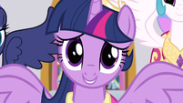Princess Twilight cute close up S3E13