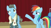 RD -And I thought you were the coolest Wonderbolt ever- S5E15