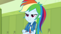 Rainbow Dash being a braggart EGDS4