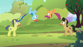 Rainbow and Scootaloo jump-roping in sync S5E17.png