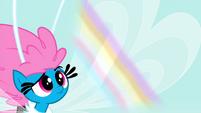 Rainbow glow on Seabreeze's wing S4E16