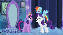"Rarity ""you've got your crown!"" EG"
