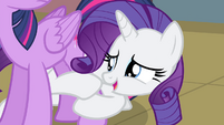 Rarity -It's him, it's him, is it him-- S4E13