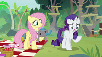 Rarity -all three of my Manehattan assistants- S8E4