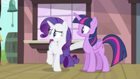 Rarity worried S4E13