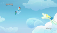 S06E24 Rainbow Dash uczy Vapor Trail