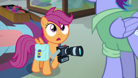 "Scootaloo ""you don't know that your daughter's a Wonderbolt?"" S7E7"