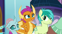 "Smolder ""we're going back to school"" S8E2"