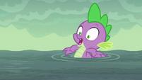 Spike --he's gonna drown!-- S6E5