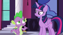Spike -how do I do that-- S5E10
