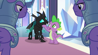 Spike singing in support of Thorax S6E16