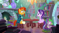 Sunburst --Did you really travel through time--- S6E2
