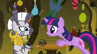 Twilight 'Okay, when do we start' S3E05