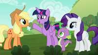 Twilight --now that your chores are streamlined-- S6E10