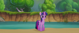 Twilight Sparkle in contemplative thought MLPTM