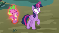 Twilight shocked by the roc's appearance S8E11