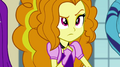 Adagio looks at the Rainbooms curiously EG2.png