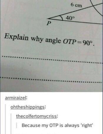 Angle OTP
