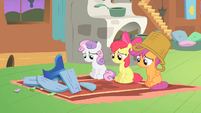 CMC and broken table S01E17
