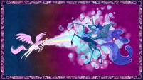 Celestia Defeats Nightmare Moon S01E01