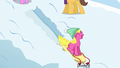 Cherry Berry sleds down a snowy hill S5E5.png