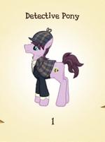 Detective Pony MLP Gameloft