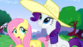 Fluttershy and Rarity enjoy the weather S02E25.png