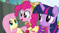 "Pinkie Pie ""Where can I get pompoms like those?"" S4E10"