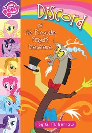 Portada del libro Discord and the Ponyville Players Dramarama