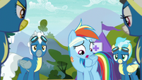 Rainbow Dash --always been a standout flyer-- S6E7