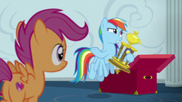 Rainbow Dash --on roads, not on clouds-- S6E14