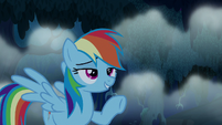 Rainbow Dash --you're scared of everything-- S6E15