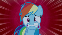 Rainbow Dash extra shocked S6E15