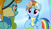 Rainbow Dash tries reasoning 1 S3E07