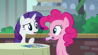"Rarity ""The Cantering Cook isn't that kind of restaurant!"" S6E3"