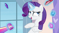 Rarity nervous chuckle S3E12