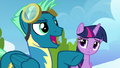 """Sky Stinger """"everypony's gonna know it"""" S6E24.png"""