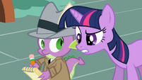 Spike & Twilight Sparkle S2E8