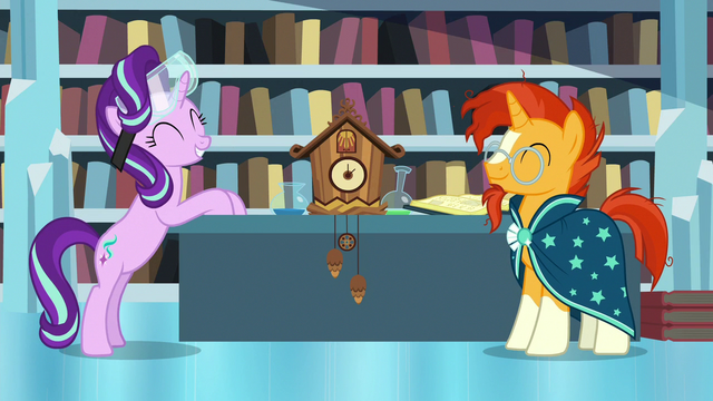 File:Starlight and Sunburst proud of themselves S7E1.png