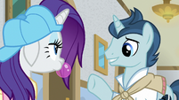Student 1 -are you two new here-- S8E16