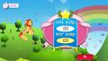 Sunset Shimmer Flying game Win MLPMobileApp.png