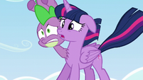 Twilight --how important other ponies' friendships are...-- S5E26