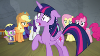 Twilight -if I tell Celestia she's terrible- S8E7