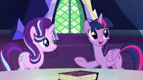 Twilight Sparkle -how would you girls feel about- S7E14