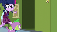 Twilight opens a nearby locker EG3