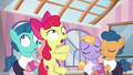 Apple Bloom crashes into pair of foals S6E4.png