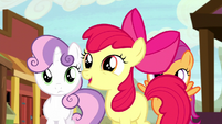 Apple Bloom getting more excited S5E6