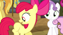 Apple Bloom imagines a lasso cutie mark S5E6