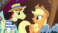 "Applejack ""hope you two know what you're doin'"" S6E20.png"
